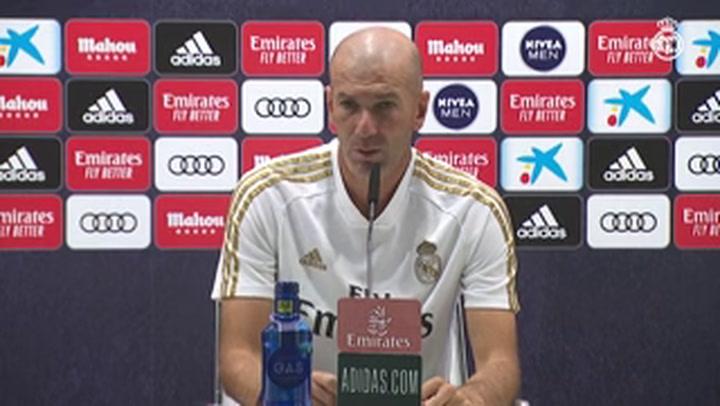 """Zidane:""""Hay que respetar el campeonato y contra el Leganés vamos a intentar hacerlo bien"""