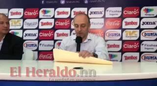 Fabián Coito realiza su primera convocatoria como DT de la Selección de Honduras