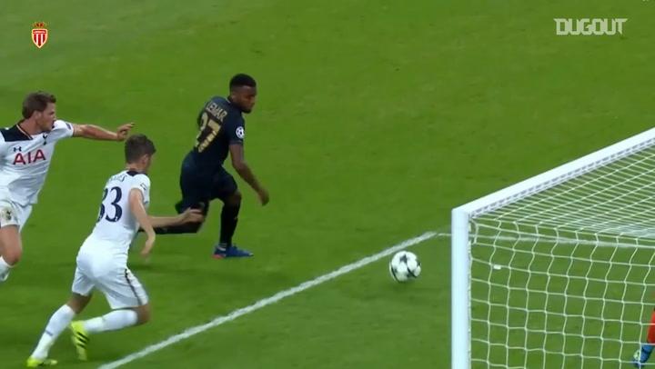 Thomas Lemar's Champions League goals vs Spurs