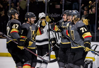 Golden Knights suffer second straight loss to Kings