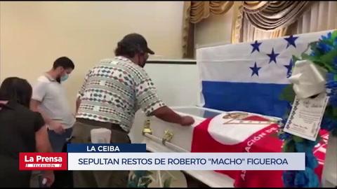Sepultan restos de Roberto