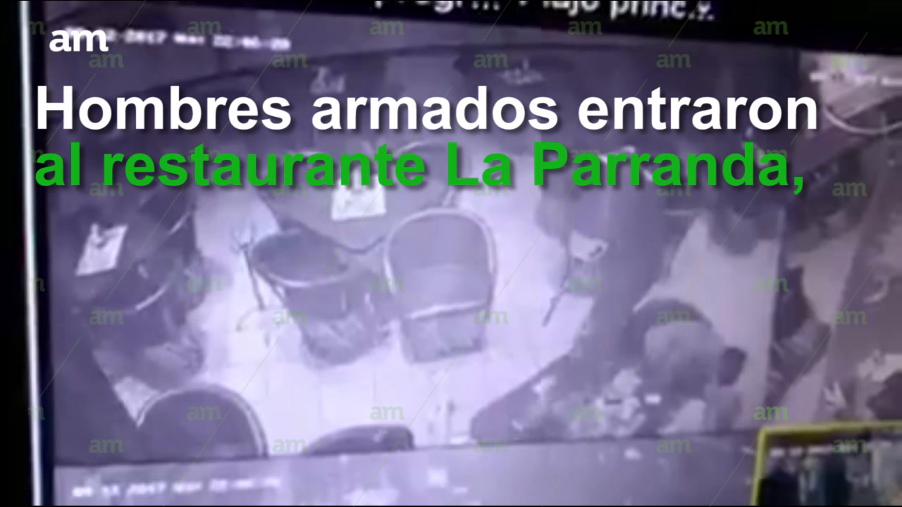Masacran a 5 en menos de un minuto en restaurante