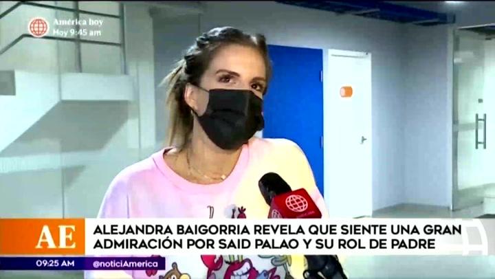 Alejandra Baigorria destaca la labor paternal de Said Palao