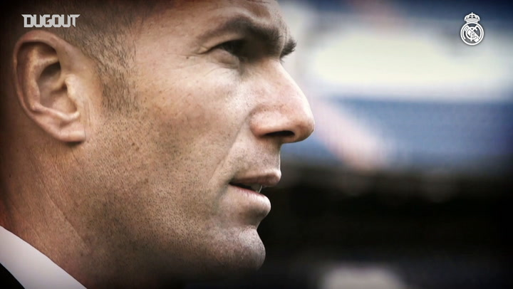 Zinedine Zidane: 50 LaLiga Matches At The Santiago Bernabéu