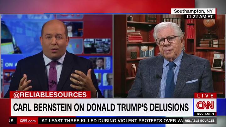 Carl Bernstein: 'Delusional' Trump an 'American War Criminal'
