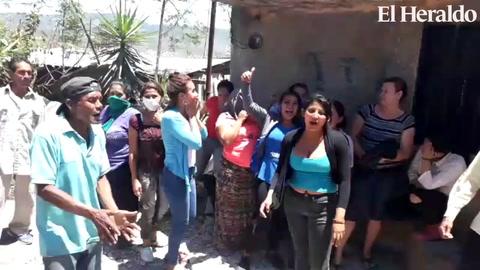 Tegucigalpa: Desalojan protesta en el sector de la aldea El Guanabano