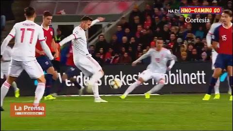 Noruega 1-1 España (Eliminatoria Eurocopa 2020)