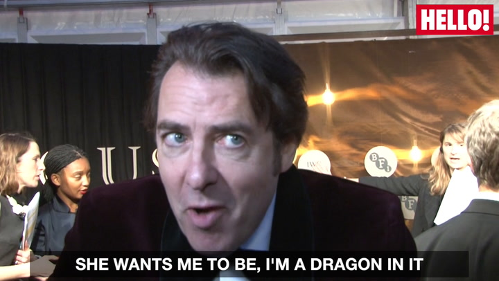 Jonathan Ross Talks the new Game of Thrones spin off exclusively to HELLO!