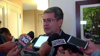 JOH expondrá ante ONU dura realidad climática de Honduras