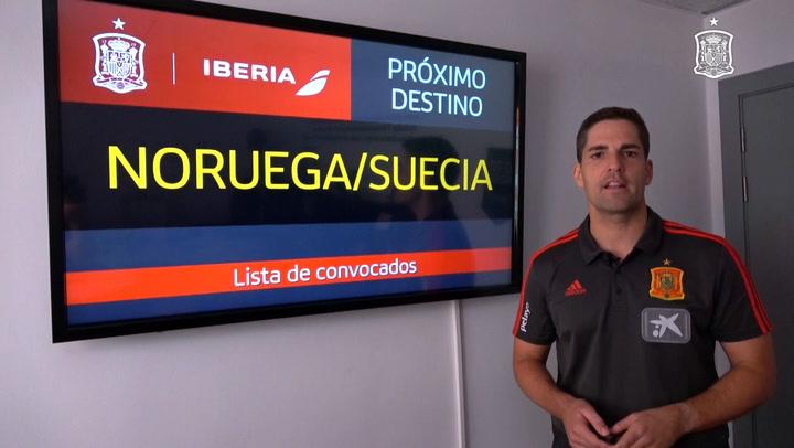 Lista de convocados de España para la fecha FIFA de octubre