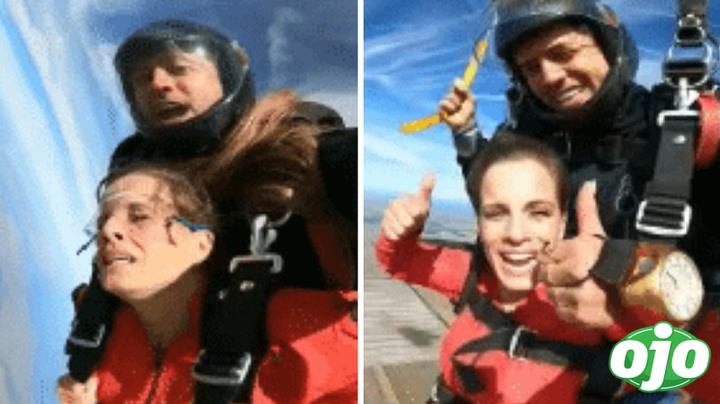 Alejandra Baigorria se lanza en paracaídas y comparte increíble video