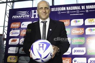 La propuesta de juego que ofreció Fabián Coito, nuevo DT de Honduras
