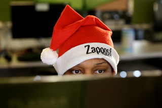 Zappos treats their team members on Cyber Monday