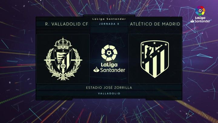 LaLiga (J8): Resumen y goles del Valladolid 0-0 Atlético de Madrid