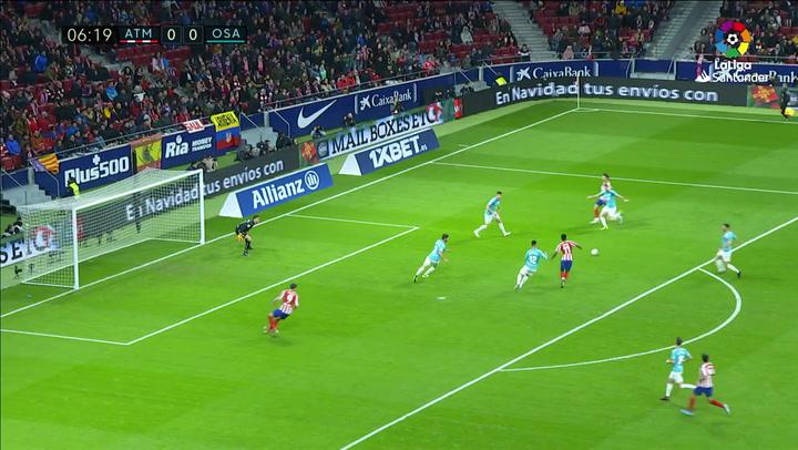Así fue el 'súper partido' de Sergio Herrera ante el Atlético