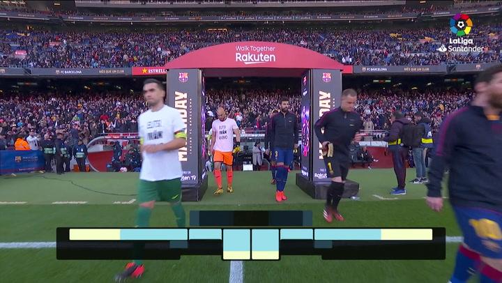 LaLiga Santander (J25): Resumen y goles del Barcelona 5-0 Eibar