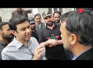 Watch: G-B chief secretary snubs man demanding health facilities