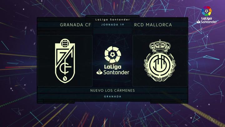 LaLiga (J19): Resumen y gol del Granada 1-0 Mallorca