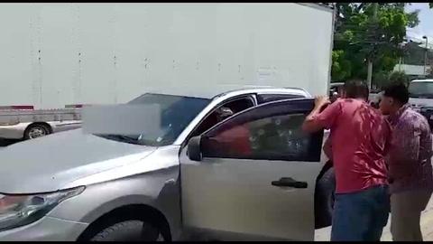 Entre la vida y la muerte rescataron a hombre tiroteado en San Pedro Sula