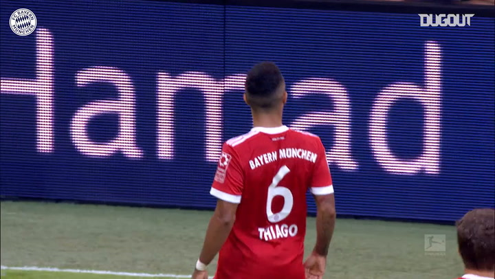 Thiago's thunderbolt finish vs SC Freiburg