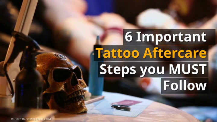 Important Tattoo Aftercare Steps