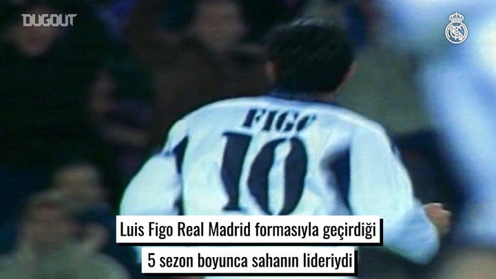 Real Madrid Efsanesi Luis Figo