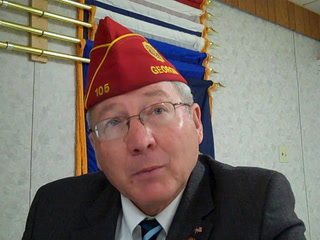 Morris American Legion Post 29 hosts National Commander Dale Barnett