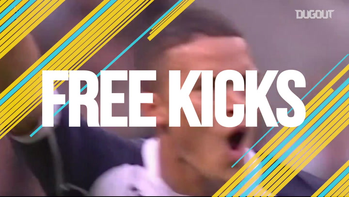 Jermaine Jenas fires free-kick past Manchester United
