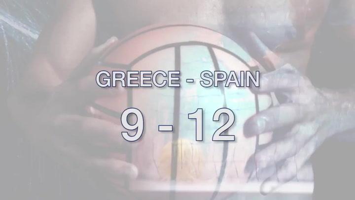 Resumen del Grecia-España de waterpolo femenino