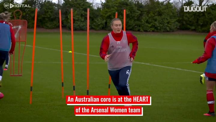 Arsenal Women's Australian connection
