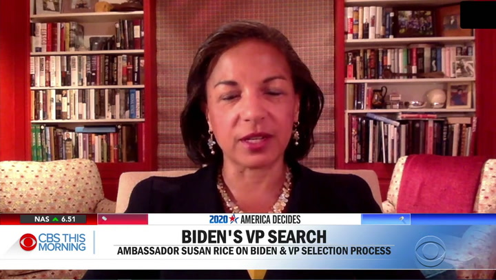 Susan Rice: We Must 'Re-Imagining the Role of the Police' to End Ongoing Inequality, Oppression