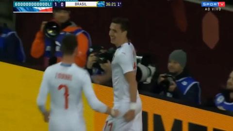 República Checa 1-3 Brasil (Amistosos internacionales)