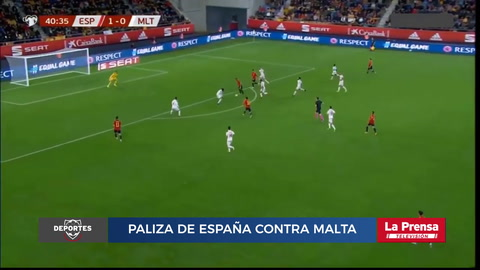 España 7-0 Malta (Eliminatoria Eurocopa 2020)