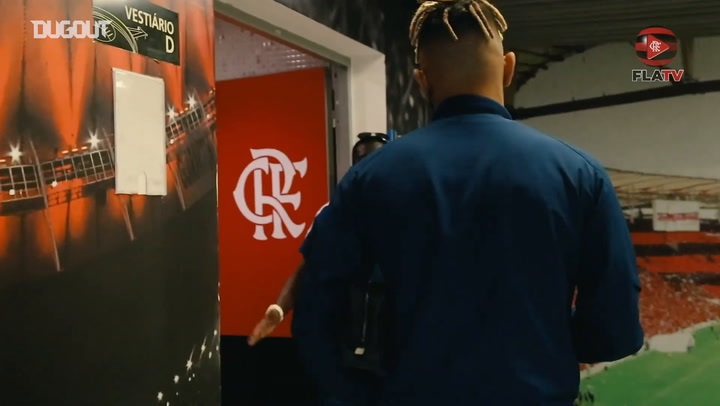 Behind the scenes of Flamengo's victory over Santos at Maracanã