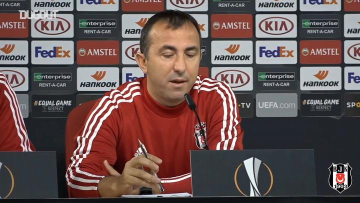 Yardımcı Antrenör Recep Uçar Braga Maçı Öncesi Konuştu