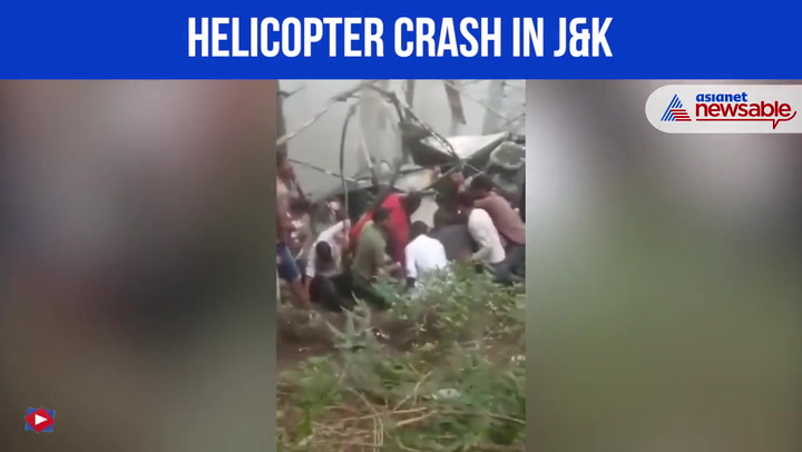 Indian army helicopter crashes into hillside, killing both pilots