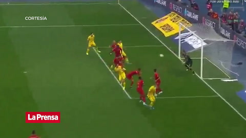 Ucrania 2-1 Portugal (Eliminatoria Eurocopa 2020)