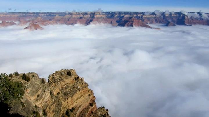 Grand Canyon fylt av sjeldent sky-fenomen – igjen