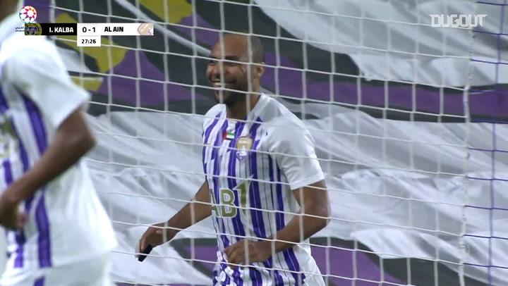 Highlights: Al-Ain 1-1 Ittihad Kalba