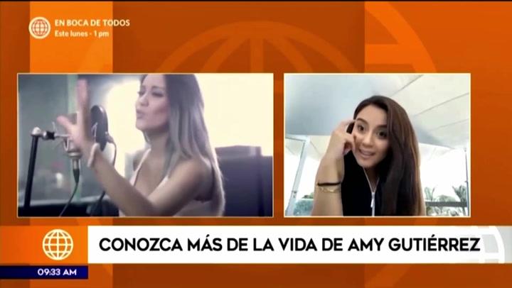 Amy Gutiérrez podría representar al Perú en el Festival de Viña del Mar