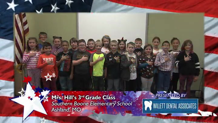 Southern Boone Elementary - Mrs. Hill - 3rd Grade