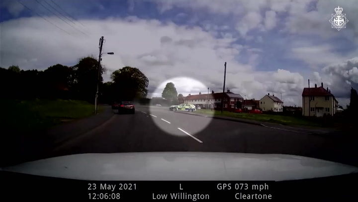 Bentley driver leads police on 130mph pursuit while high on cocaine