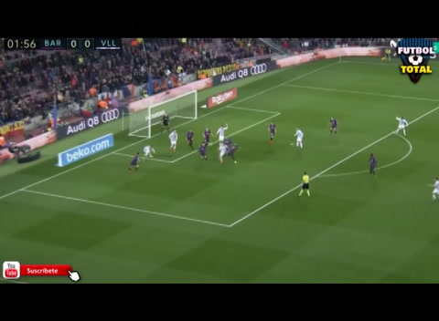 Barcelona le gana 1-0 a Valladolid en el Camp Nou