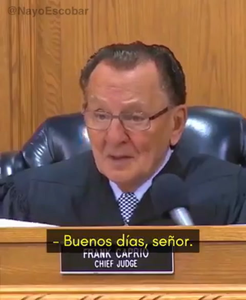 Por esta razón un juez le perdona una multa a un hombre de 96 años