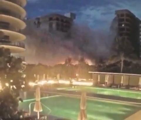Al menos 99 personas desaparecidas tras derrumbe de un edificio en Miami
