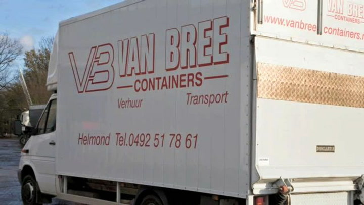Bree Containerverhuur Van