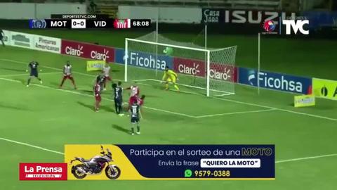 El gol de Kevin López que abrió el marcador en el Motagua - Vida