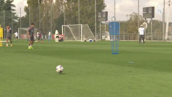 El Real Madrid prepara el partido ante el Betis