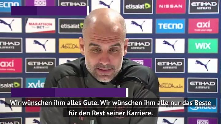 Guardiola äußert sich zu Aguero-Wechsel