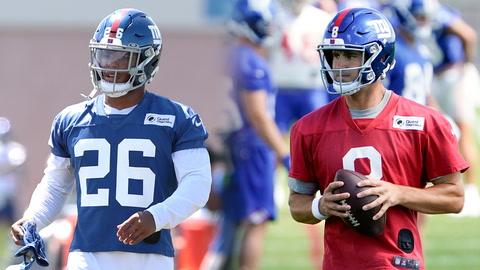 Giants Training Camp: When will Saquon Barkley practice, confidence in Daniel Jones? | SportsNite
